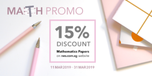 NES Mathematics Exam Paper Promo (Mar 2019)